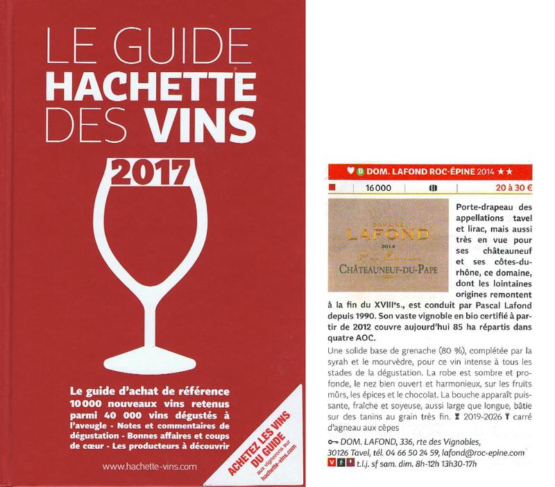 Guide hachette 2017 chateauneuf du pape 2014 domaine - Guide du papa ...